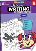 180 Days of Writing for Fifth Grade (Spanish) ebook