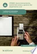 Aprovisionamiento, control de costes y gestión del alojamiento rural. HOTU0109