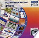 Catálogo de productos del Instituto Nacional de Estadística, Geografía e Informática ...