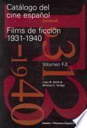 Catálogo del cine español