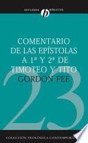 Comentario de las epístolas de 1a y 2a de Timoteo y Tito
