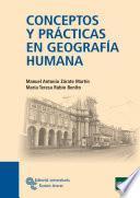 Conceptos y prácticas en Geografía Humana