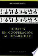 Debates en cooperación al desarrollo