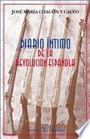 Diario íntimo de la Revolución Española