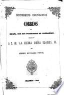 Diccionario geográfico de Correos de España con sus posesiones de Ultrama
