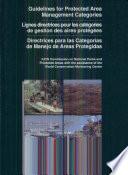 Directrices Para Las Categorías de Manejo de Areas Protegidas