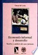 Economía informal y desarrollo