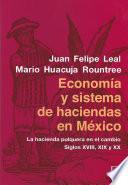 Economía y sistema de haciendas en México