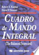 EL CUADRO DE MANDO INTEGRAL: THE BALANCED SCORECARD