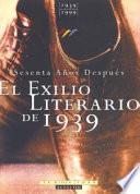 El exilio literario de 1939