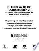 El Uruguay desde la sociología