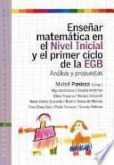 Enseñar matemática en el nivel inicial y el primer ciclo de la E.G.B.