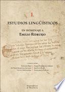 Estudios lingüísticos en homenaje a Emilio Ridruejo