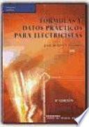 Fórmulas y datos prácticos para electricistas