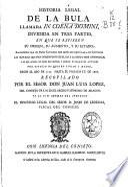 Historia legal de la bula llamada In Coena Domini