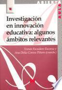 Investigación en innovación educativa