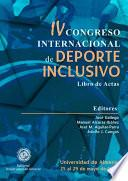 IV Congreso internacional de deporte inclusivo. Universidad de Almería 25 al 29 de mayo 2015