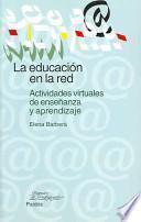La educación en la red