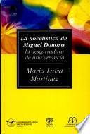 La novelística de Miguel Donoso