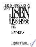 Libros españoles en venta ISBN.