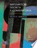 Matemáticas discretas y combinatoria : una introducción con aplicaciones