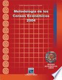 Metodología de los Censos Económicos 2004
