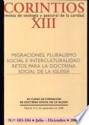 Migraciones, pluralismo social e interculturalidad. Retos para la doctrina Social de la Iglesia