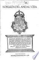 Nobleza del Andaluzia ...