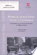 Pobreza, desigualdad social y ciudadanía