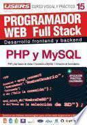 PROGRAMACION WEB Full Stack 15 - PHP y MySQL