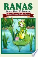 Ranas Libro Para Colorear