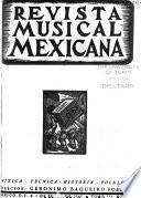 Revista musical mexicana