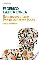 Romancero gitano   Poema del cante jondo (Poesía completa 2)