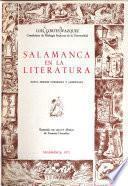 Salamanca en la literatura