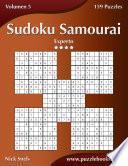 Sudoku Samurai - Experto - Volumen 5 - 159 Puzzles