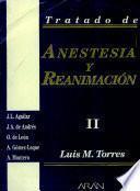 Tratado de anestesia y reanimacioʹn
