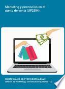 UF2394 - Marketing y promoción en el punto de venta