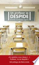 Un profesor se despide
