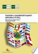 Variación y variedad del español aplicadas a E-LE/L₂